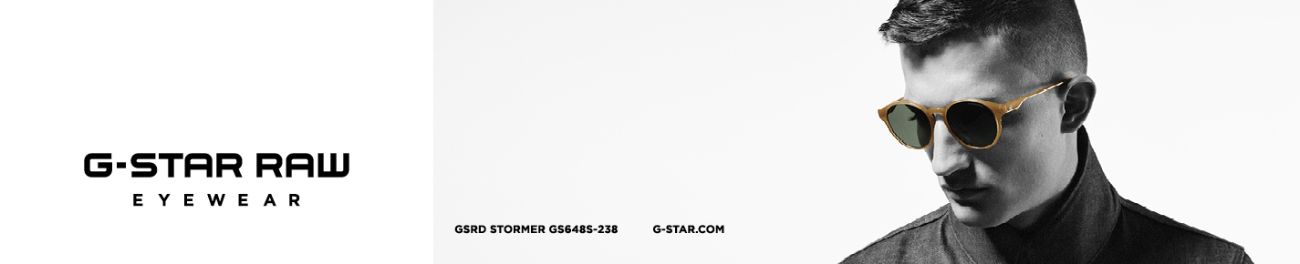 G-Star RAW Sunglasses banner