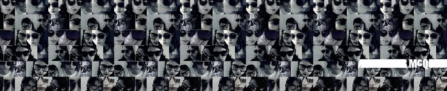McQ Sunglasses banner