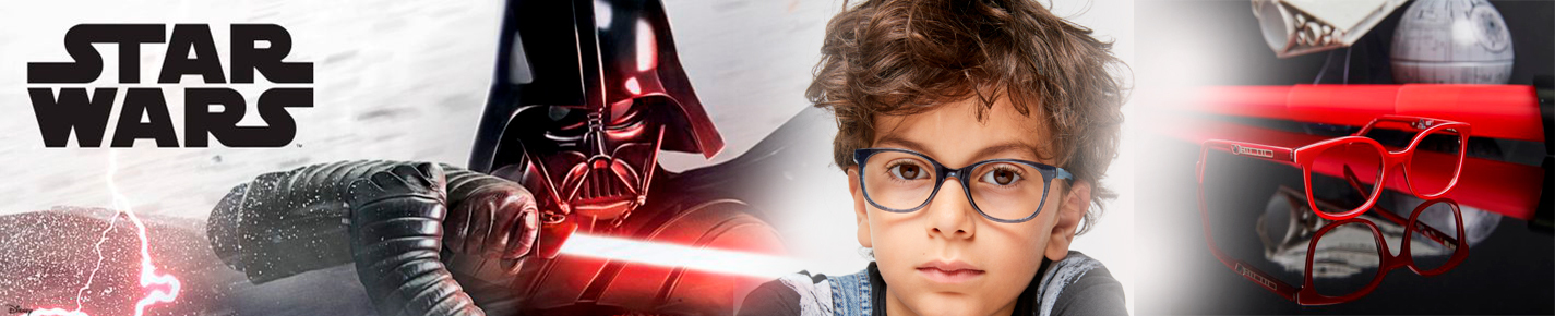 Star Wars KIDS Sunglasses banner