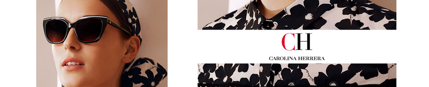 CH Carolina Herrera Sunglasses banner