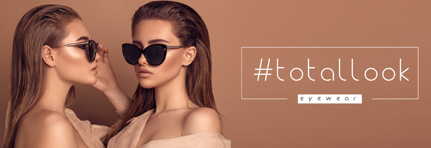 #totallook Sunglasses banner
