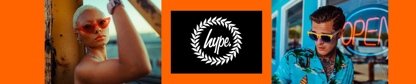 HYPE Sunglasses banner