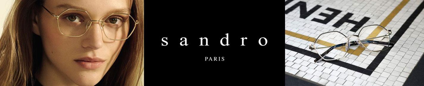 Sandro Sunglasses banner