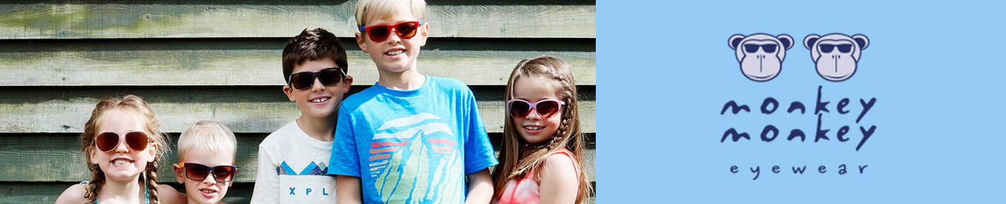 Monkey Monkey KIDS Sunglasses banner