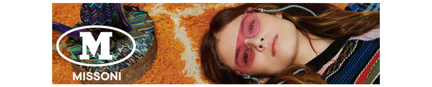 M Missoni Sunglasses banner