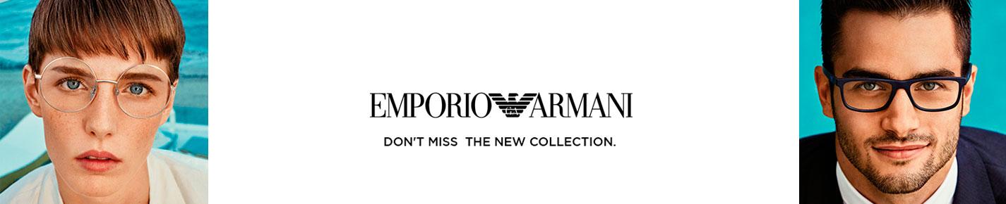 Emporio Armani Sunglasses banner