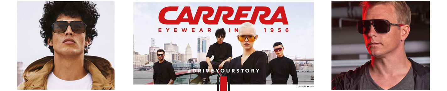Carrera Sunglasses banner