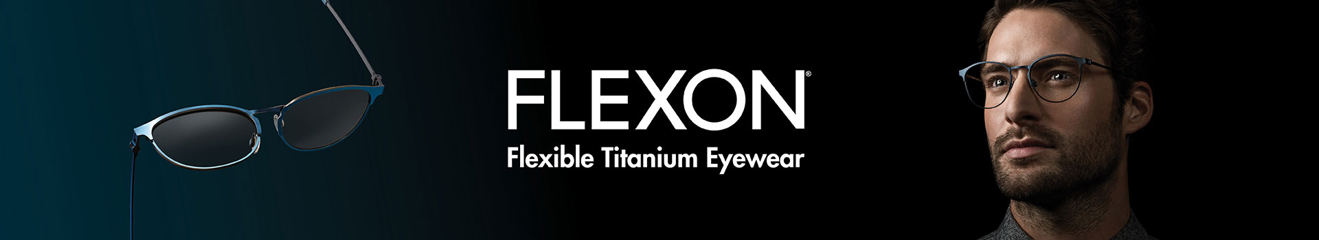 Flexon Sunglasses banner