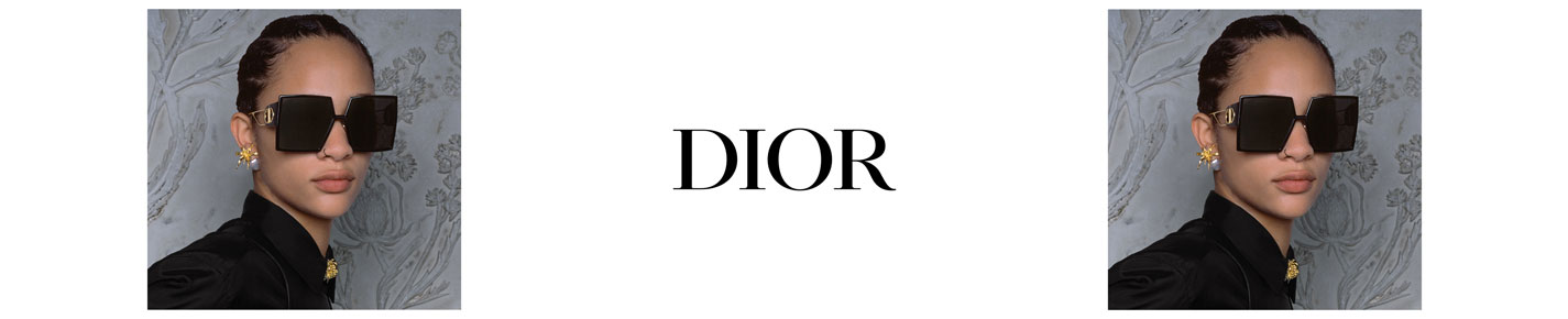 Dior Sunglasses banner