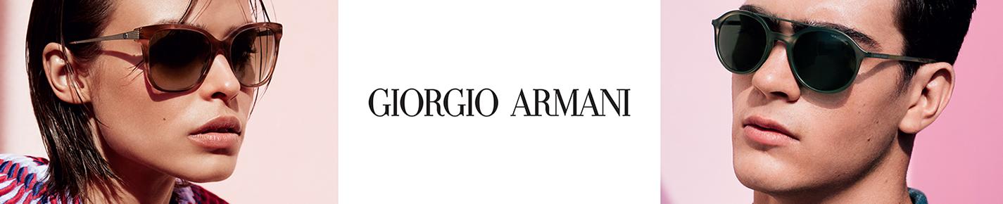 Giorgio Armani Sunglasses banner