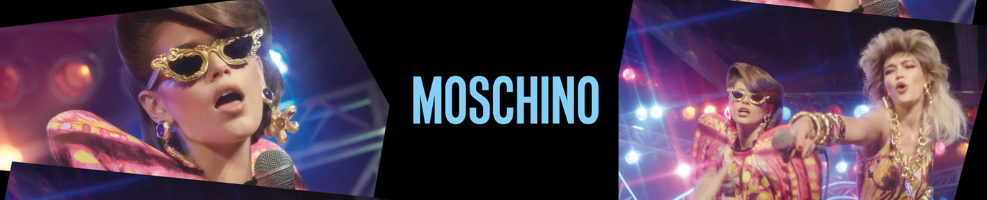 Moschino Sunglasses banner
