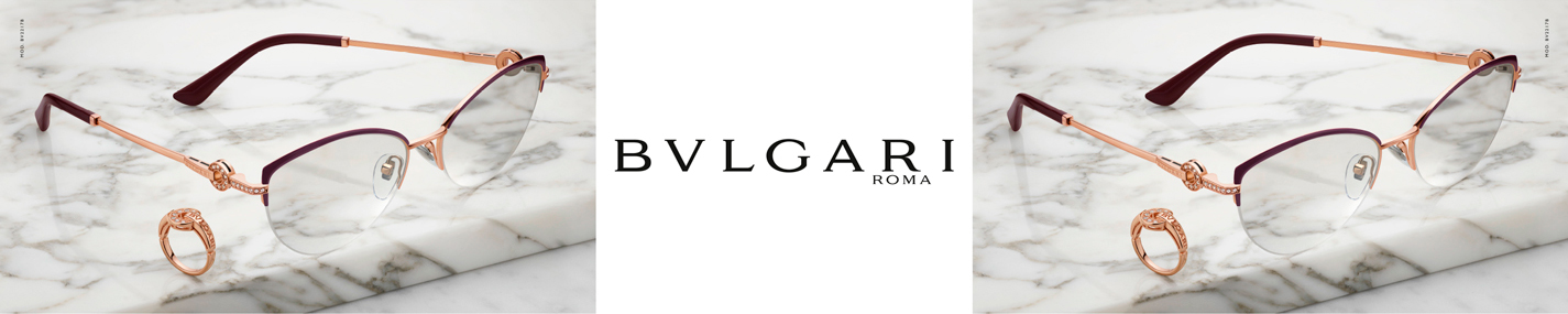 Bvlgari Glasses banner