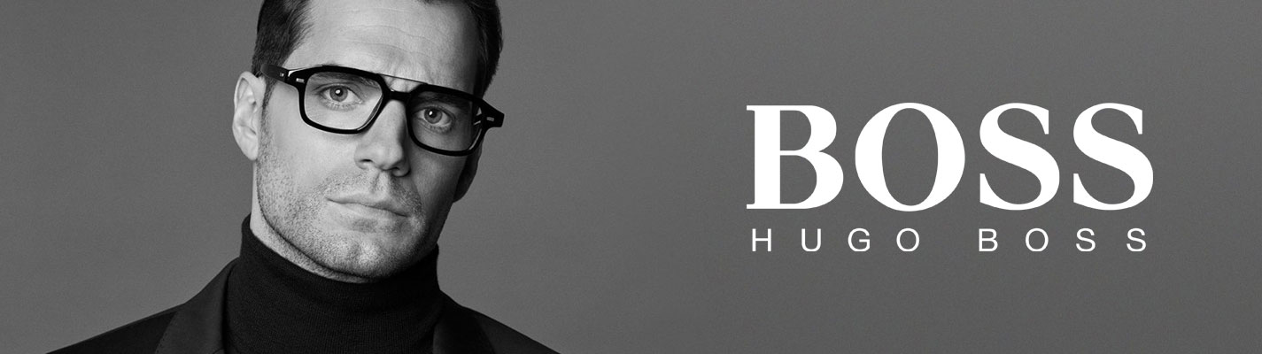 BOSS Hugo Boss Glasses banner