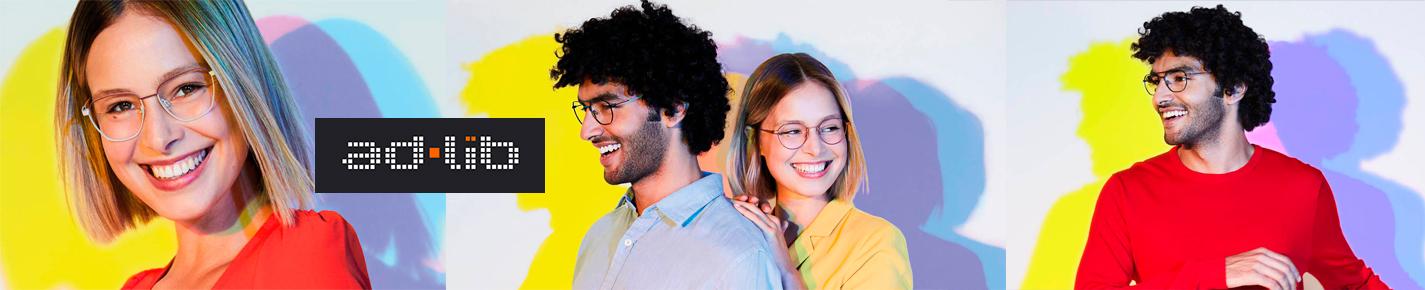 Ad Lib Eyeglasses banner
