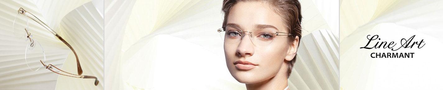 Lineart Charmant Glasses banner
