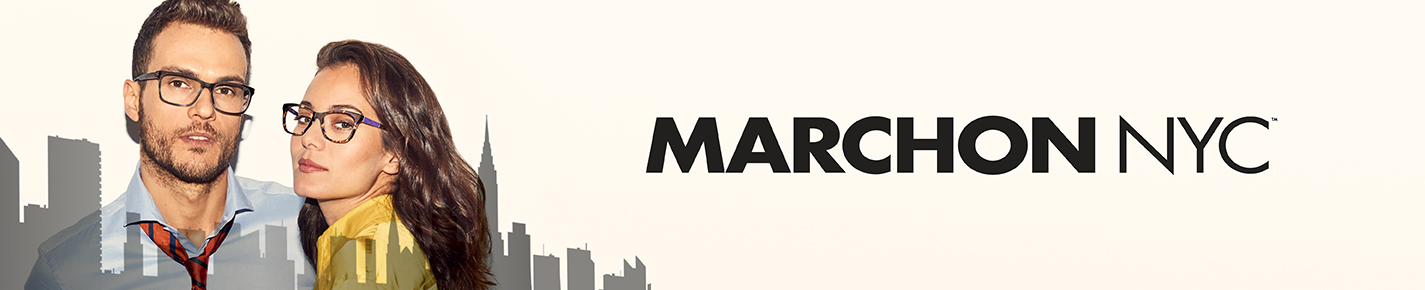 Marchon Glasses banner