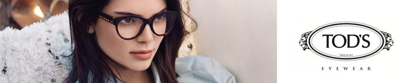 TODS Glasses banner