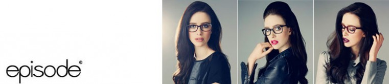 Episode Eyeglasses banner