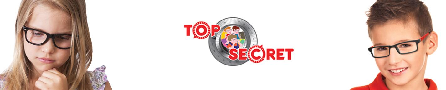 Top Secret KIDS 眼镜 banner