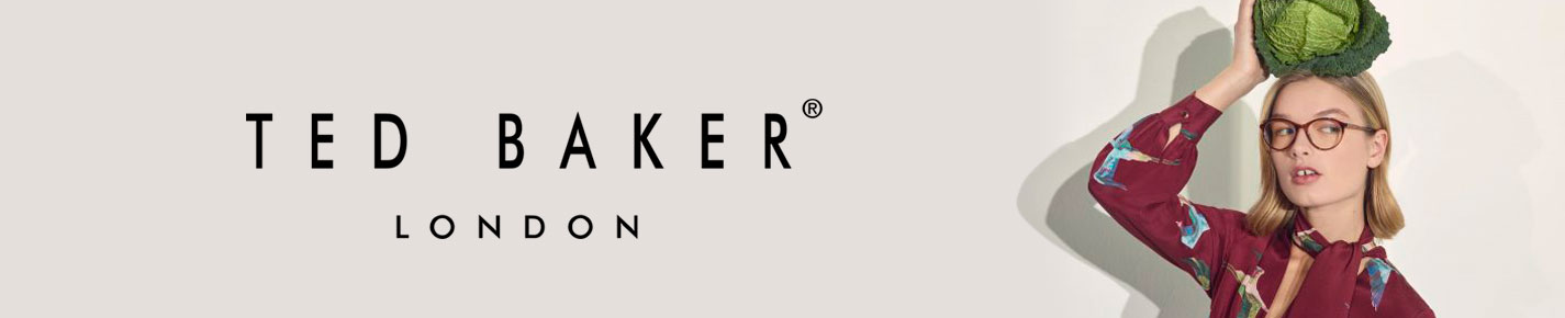 Ted Baker London Eyeglasses banner