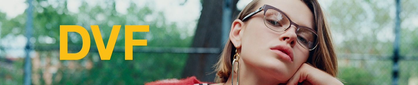 DVF Glasses banner