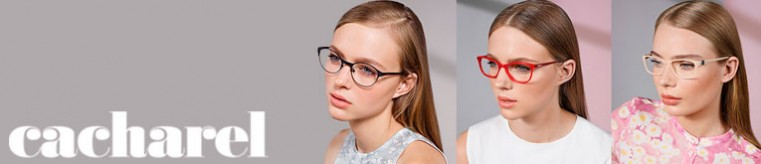 Cacharel Eyeglasses banner