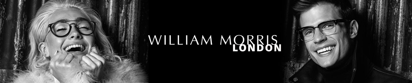 William Morris London Glasses banner