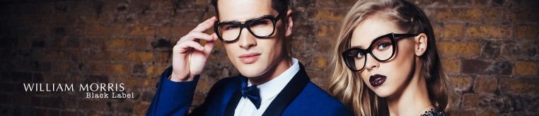 William Morris Black Label Glasses banner