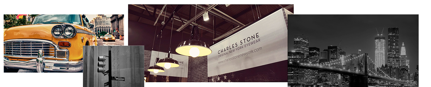 Charles Stone New York Occhiali banner