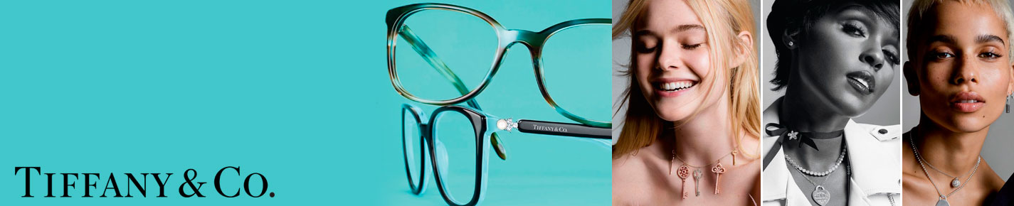 Tiffany & Co. Glasses banner