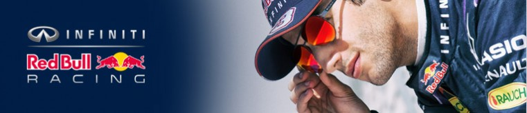 Red Bull Racing Eyewear Glasses banner