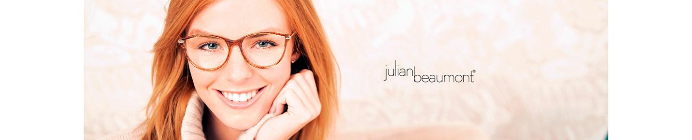 Julian Beaumont Eyeglasses banner