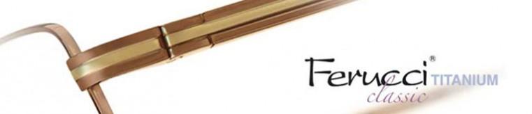 Ferucci Titanium Classic Glasses banner