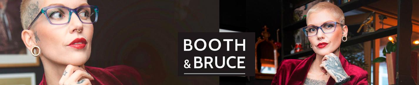 Booth & Bruce Design Glasses banner