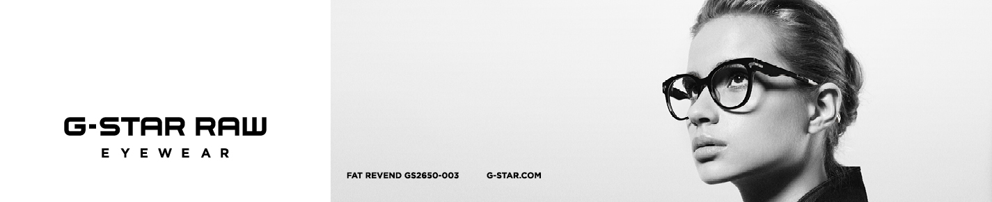 G-Star RAW Eyeglasses banner