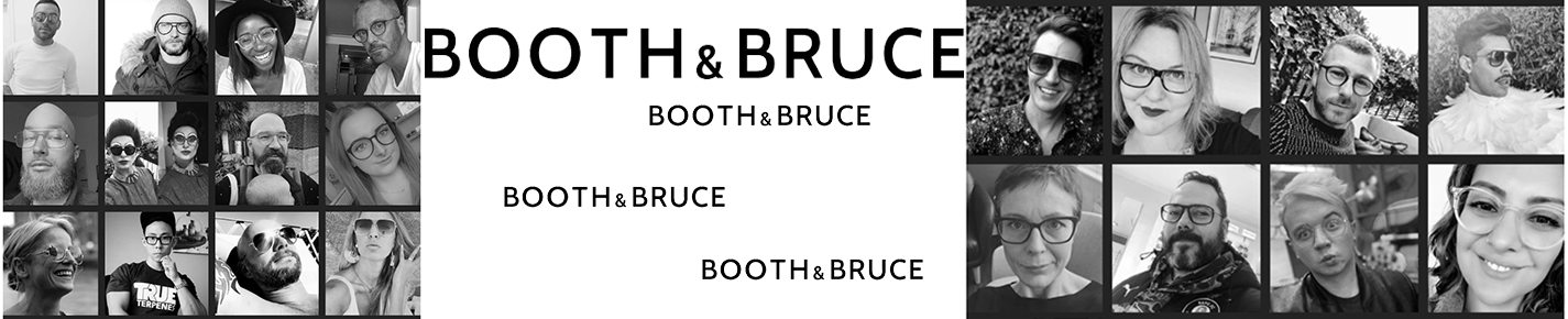 Booth & Bruce Here and Now Brillen banner