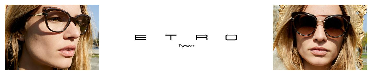 Etro Glasses banner