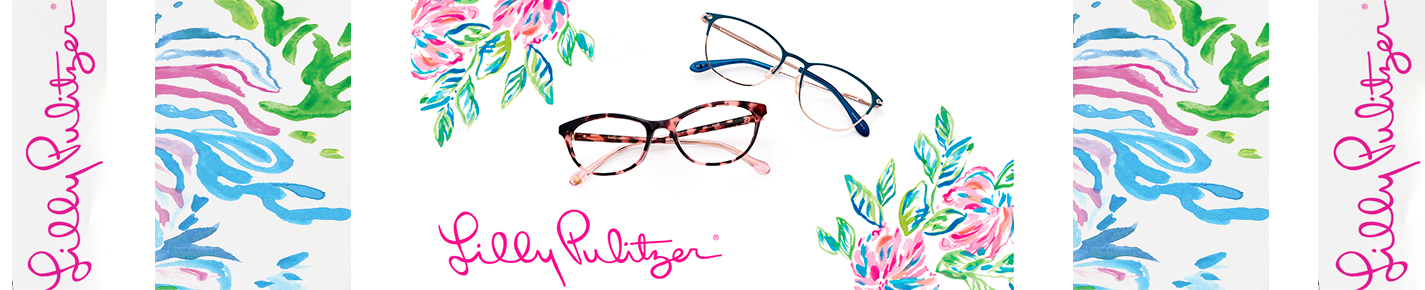 Lilly Pulitzer Girls Glasses banner