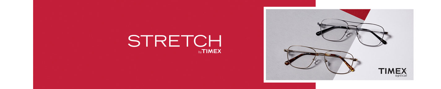 Timex STRETCH Glasses banner