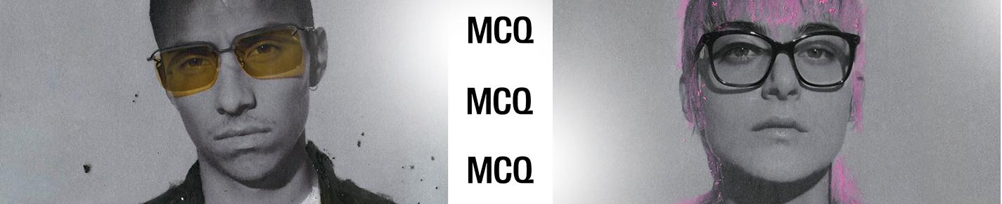 McQ Glasses banner