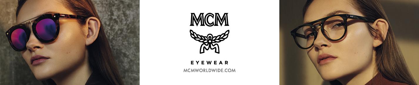 MCM Eyeglasses banner