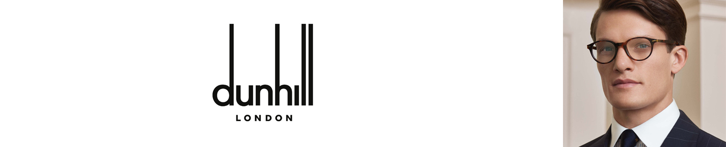 Dunhill London Eyeglasses banner