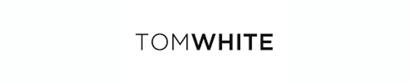 TOM WHITE Glasses banner
