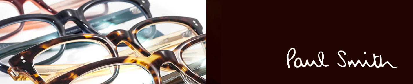 Paul Smith Glasses banner