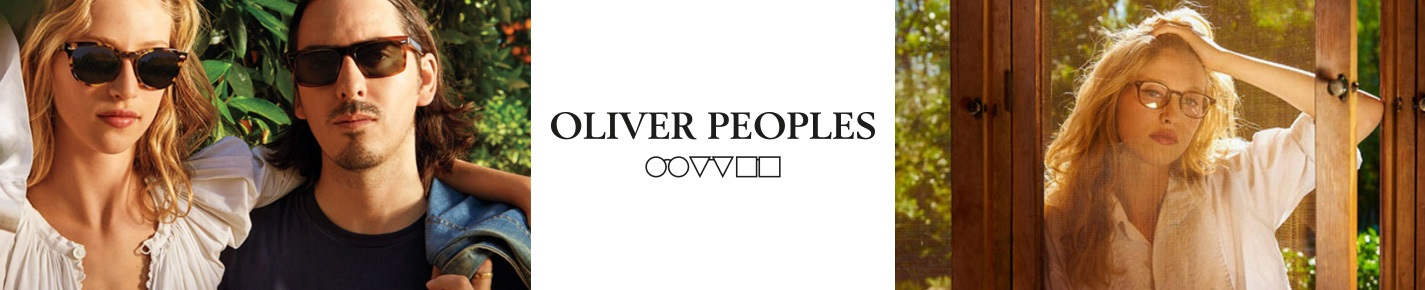 Oliver Peoples Glasses banner