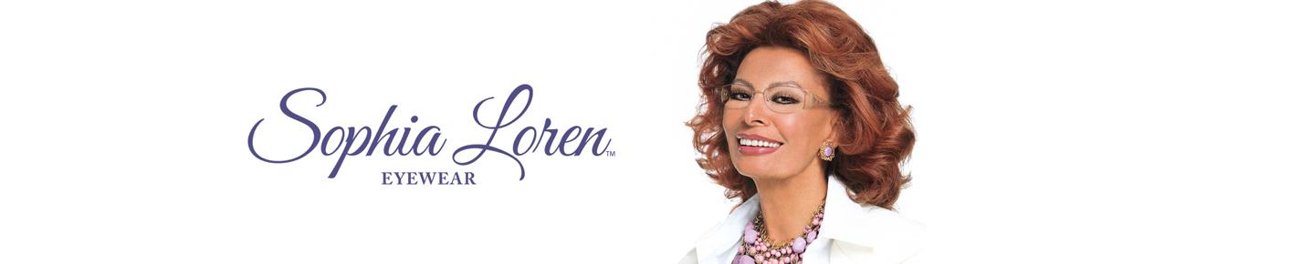 Sophia Loren Glasses banner