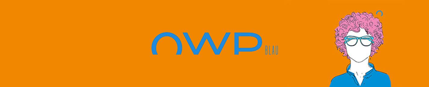 OWP BLAU Gafas banner