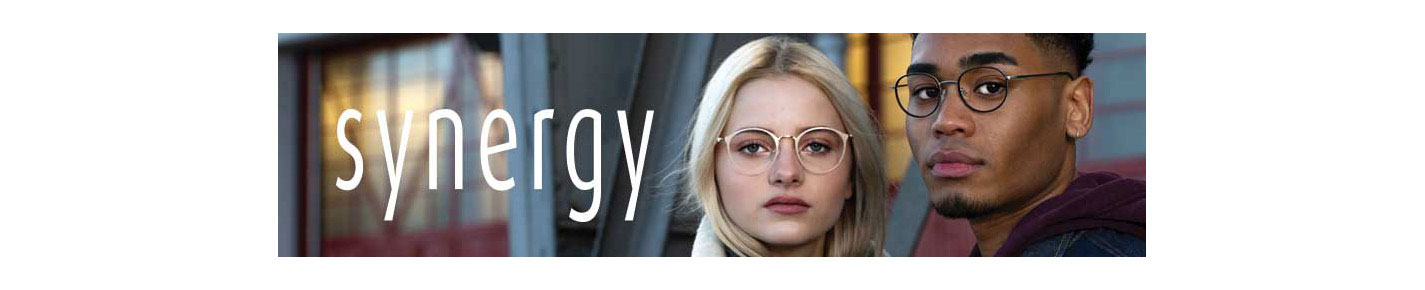 Synergy Eyeglasses banner