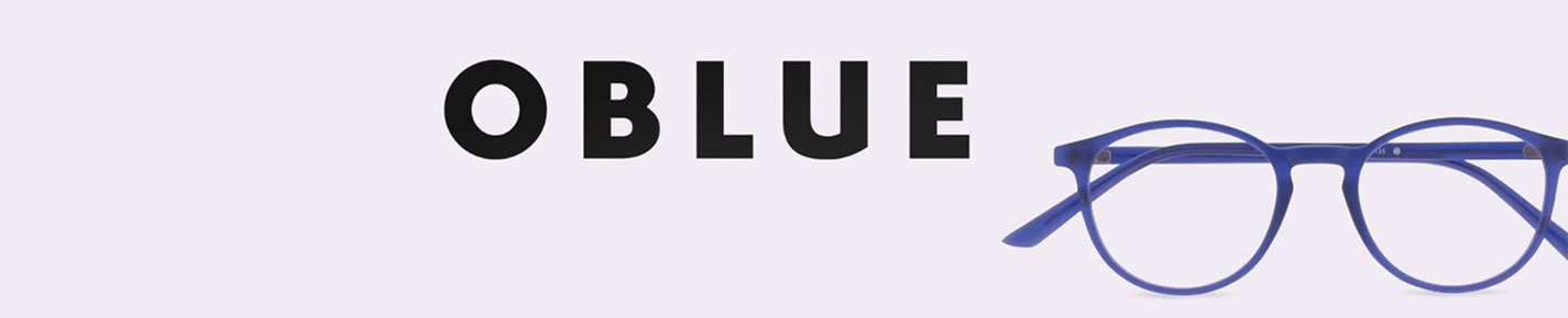 Oblue Glasses banner