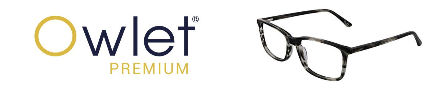 Owlet Premium Eyeglasses banner